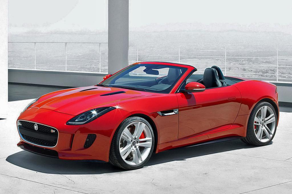 jaguar unveils  sports car     years