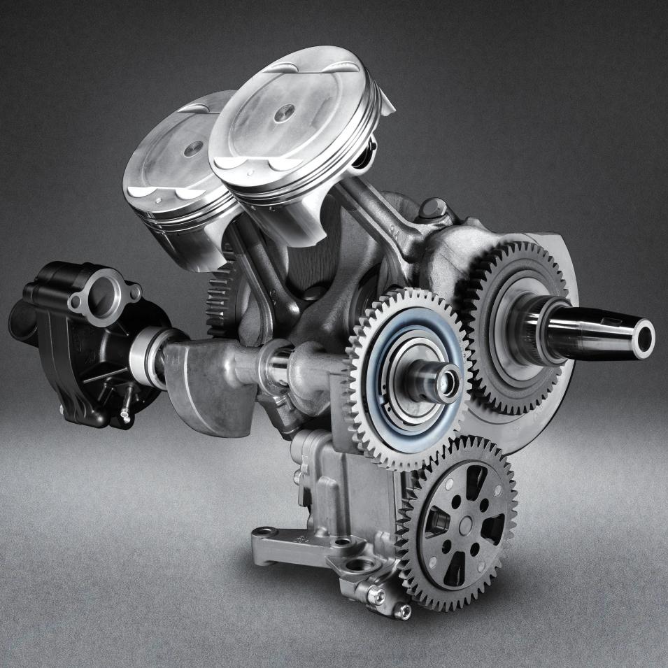 Yamaha-engine-view