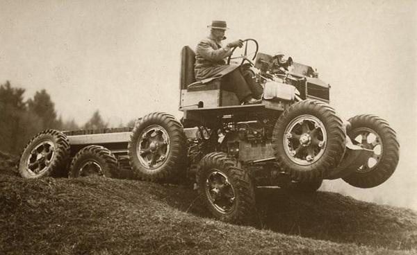 An all-terrain vehicle