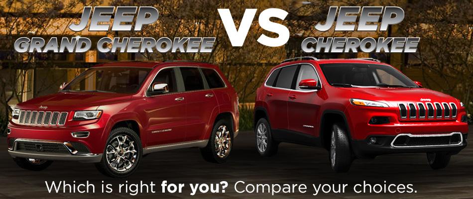 Cherokee Vs Grand Cherokee >> Jeep Cherokee Or Jeep Grand Cherokee For Sale