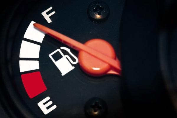 full fuel tank
