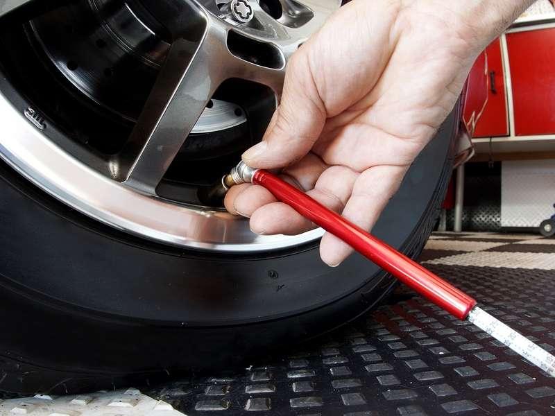 cheking tyres