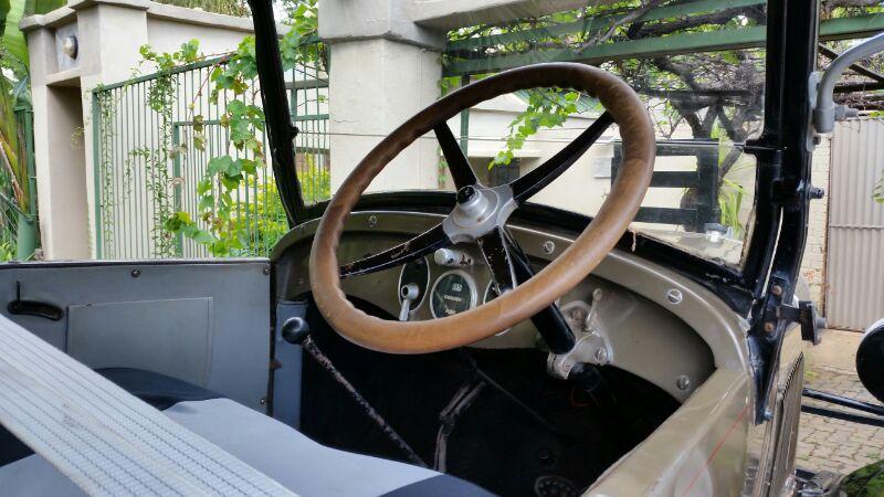 1926 Chevrolet interior