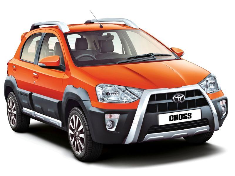 The Toyota Etios Vs New Cross