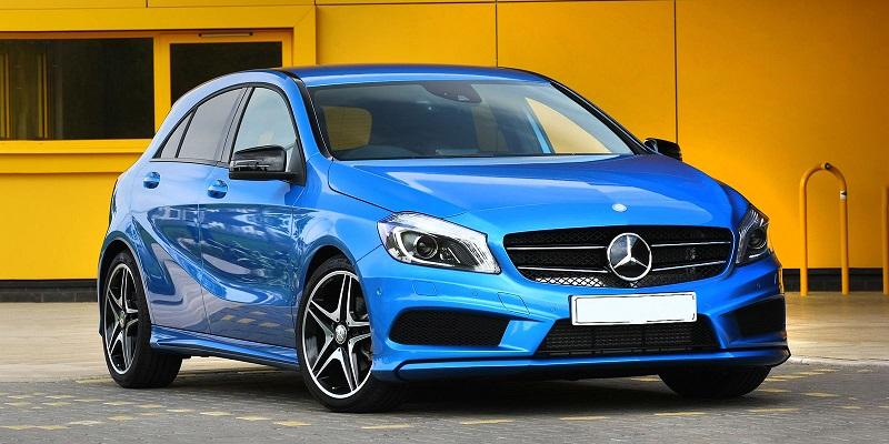 Mercedes-Benz-A-Class-blue-front