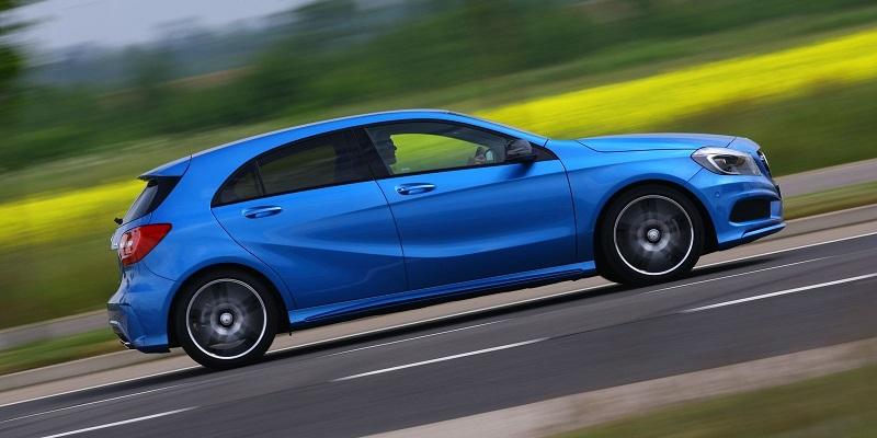 Mercedes-Benz-A-Class-driving