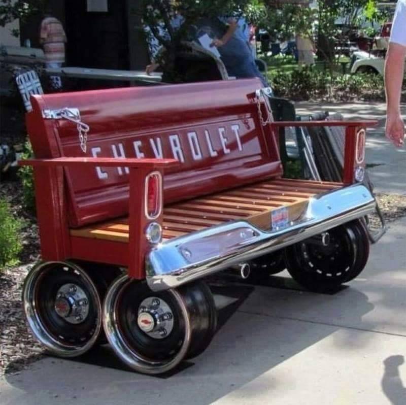 car bench