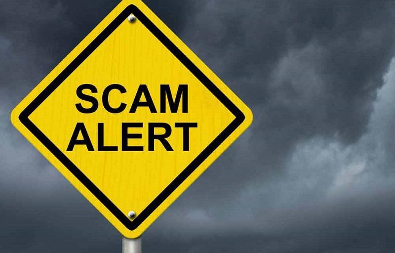 scammers alert