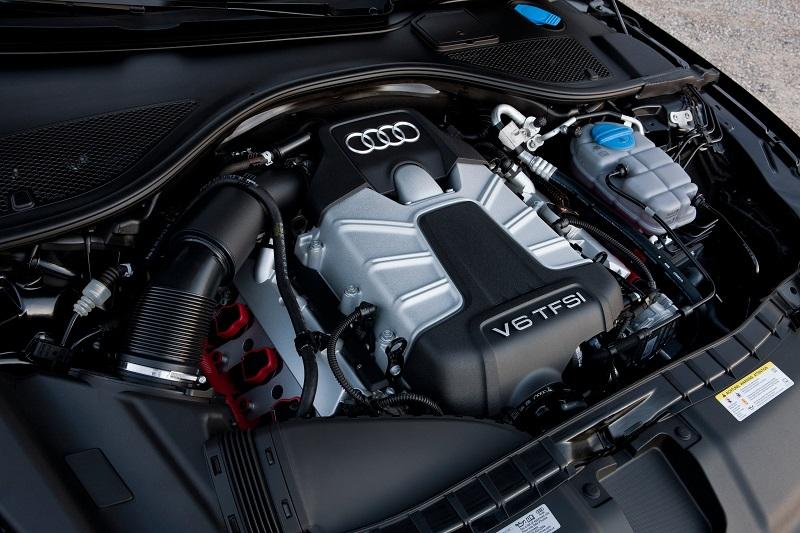 Audi-A6-engine