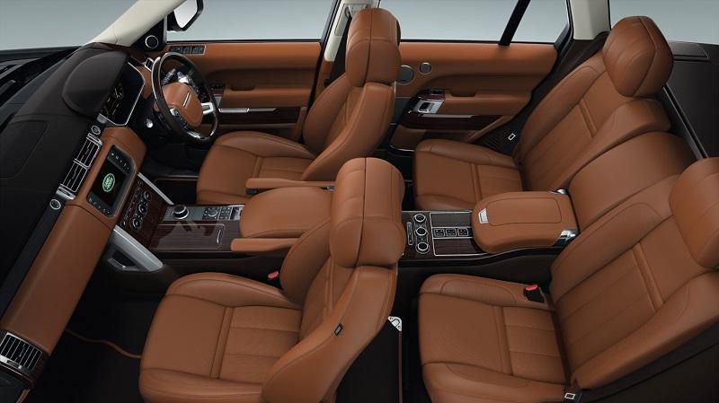 Range -Rover-Interior