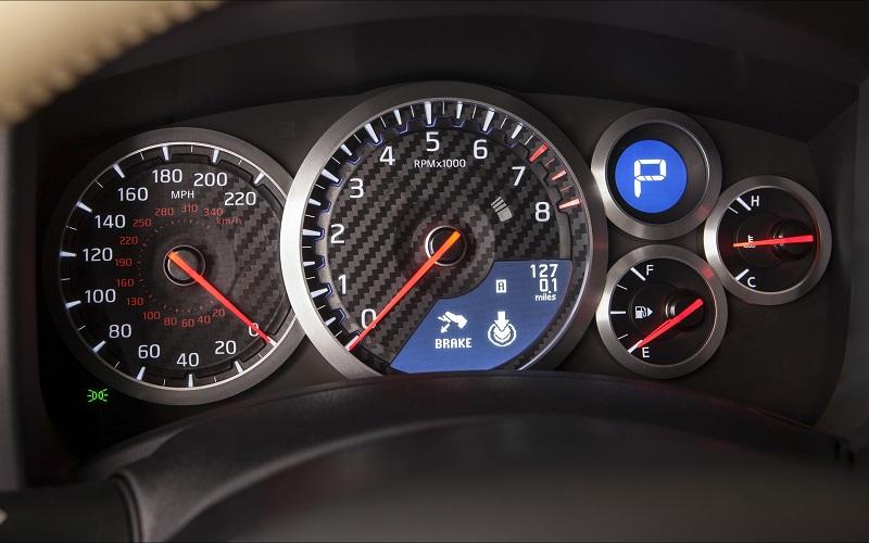 2015 Nissan GT R Interior