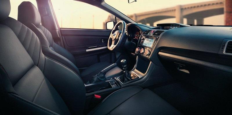 Subaru-interior