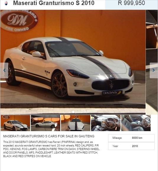 Maserati-GranTurismo-for-sale