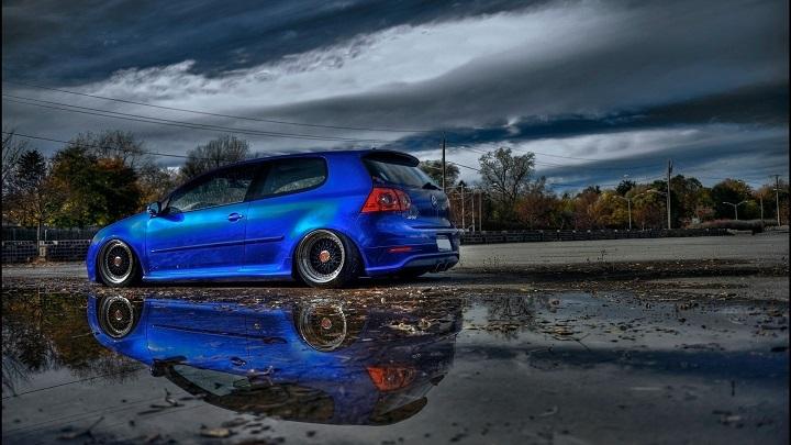 Golf-6-GTI-blue-customised