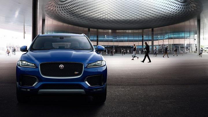 f-pace jaguar front view