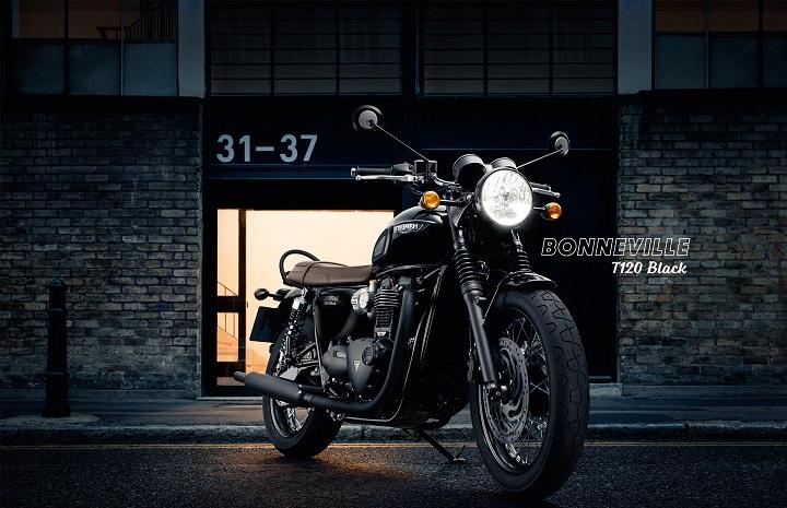 t120 black bonneville