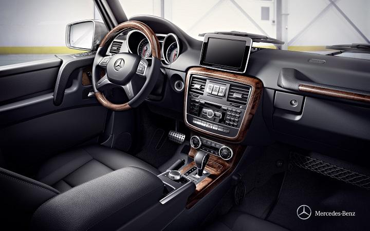 g class mercedes interior