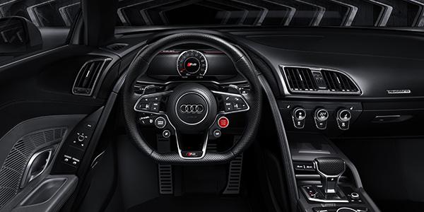 new audi r8 interior