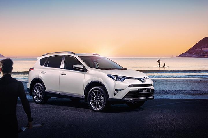 Explore in comfort with the Toyota Rav4