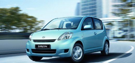 Sirion Diahatsu drive car