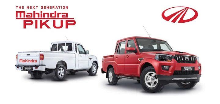 vehicle pik up mahindra