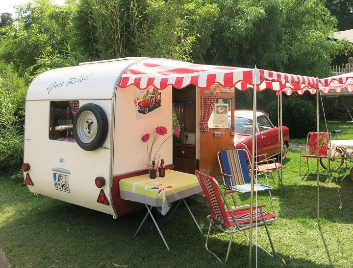 family fun caravan camping travel