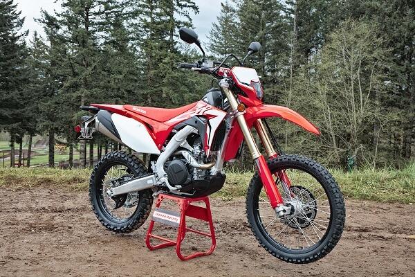 Honda CRF450L stand