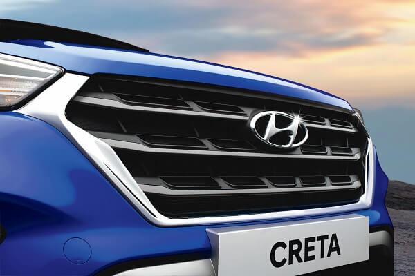 Hyundai Creta grill