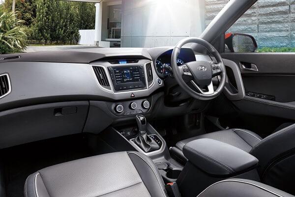 Hyundai Creta interior
