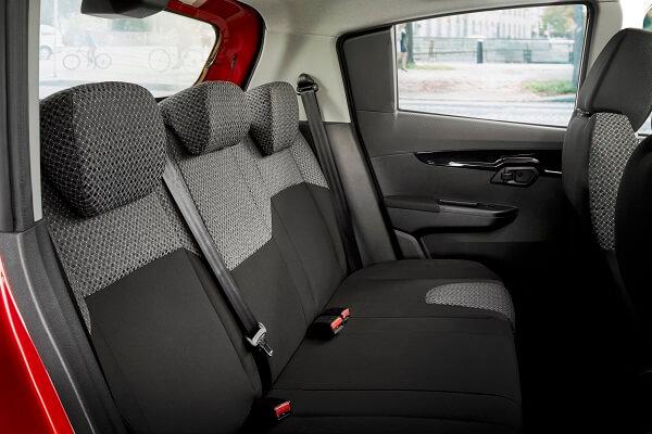 kuv100 Back seats