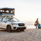 Subaru Forester Camping