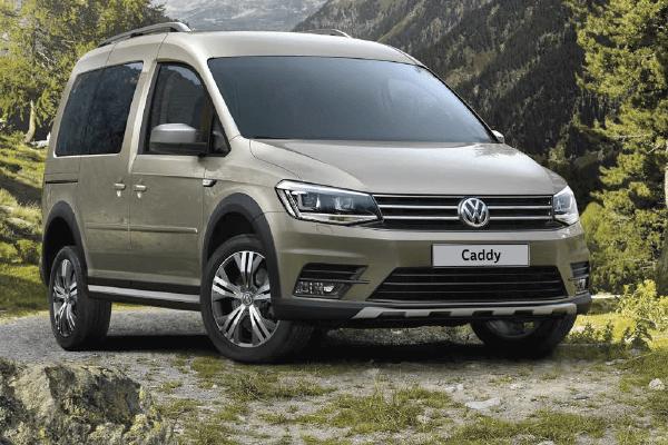 Volkswagen Caddy Trendline - Frontview
