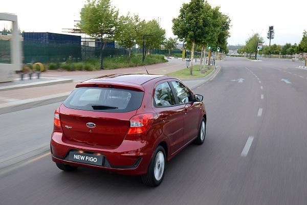 Ford Figo Titanium - Back View