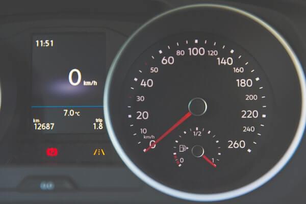 Fuel Saving - Speedometer