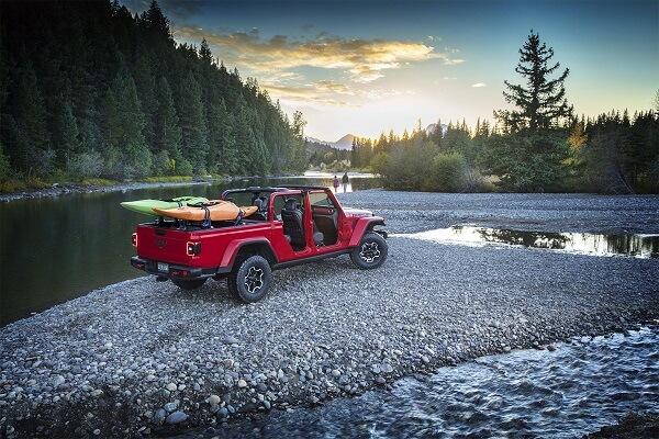 Jeep Gladiator - 4x4 capability