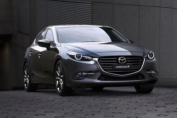 Mazda 3 - Front view grey