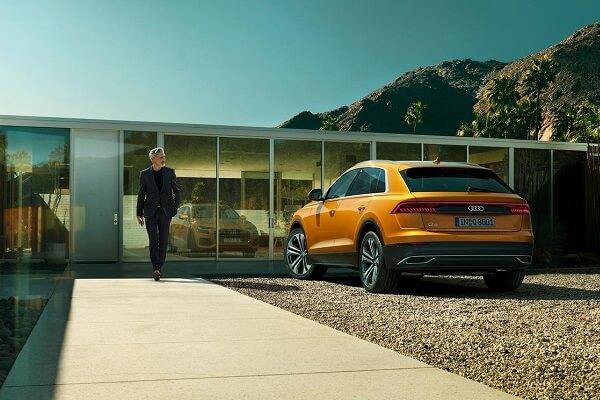 Audi Q8 - Back View