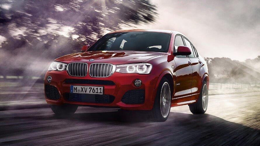 BMW X4 - Front Lights