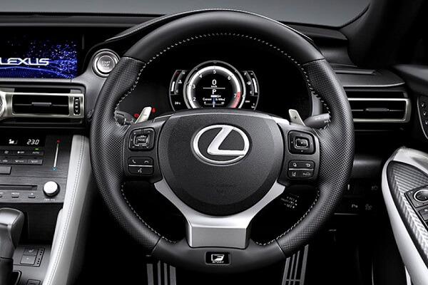 Hybrid Lexus - Steeringwheel