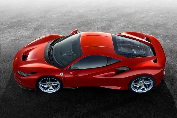 Ferrari f8 - Rooftop