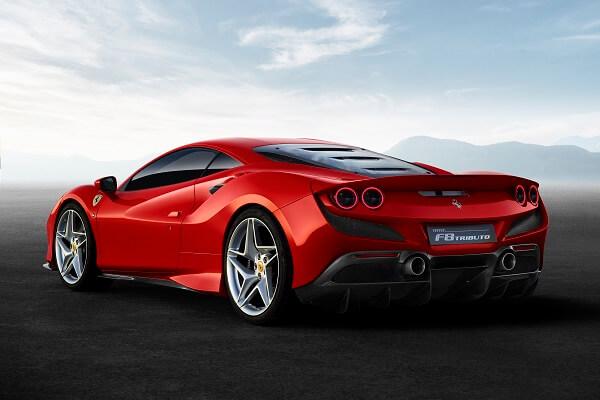 Ferrari f8 - Side Exterior
