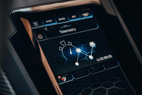 Lamborghini - Huracan evo - Interior