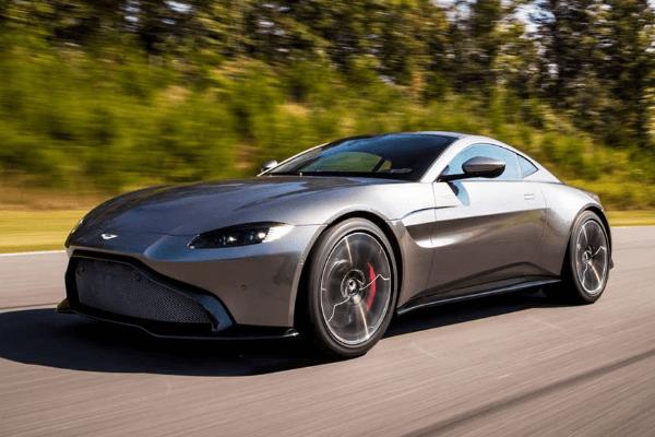 Aston Martin - Vantage Grey Exterior - Auto Mart