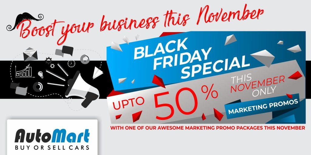 Auto Mart Black Friday Movember Specials