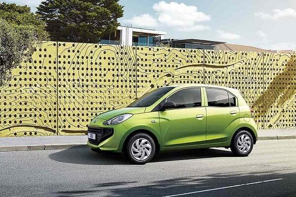 Hyundai Atos - Green Exterior - Auto Mart